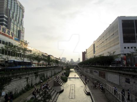 Cheongyecheon by Trough-my-eyes