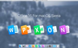 Office 16 For macOS Sierra by MaxColins