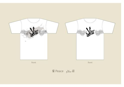 .Peace T-shirt by issastudio