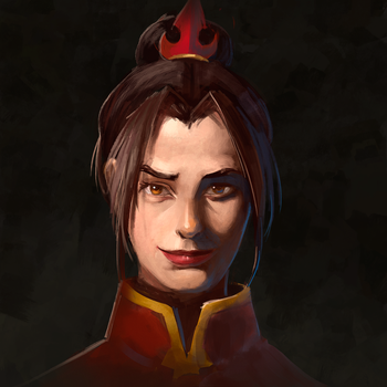 Azula of the Fire Nation by Vixgo