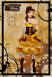 Steampunk Belle II by HelleeTitch