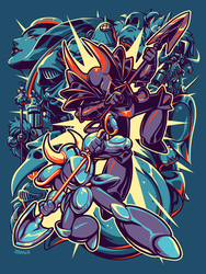 Shovel Knight - Shovel Showdown by Kaigetsudo