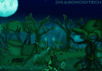 Mythical forest by DragonoidTech