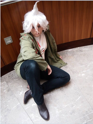 Nagito Komaeda Cosplay 4 by ucccoffee