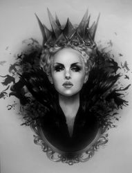 Ravenna - Snow White and the Huntsman by R-becca