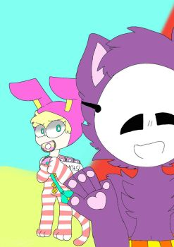 popee loves doughnuts by Pastelyk