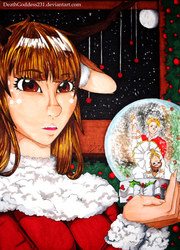 Merry Christmas 2015! by DeathGoddess231