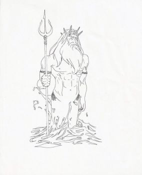 Poseidon by Mad--Hatter