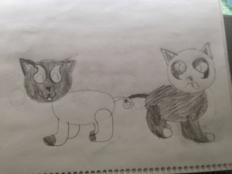 Siameow (request) by Sonnitude