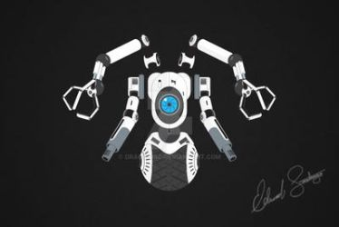 Robot Vector Illustration: Sentry by Dragonis0