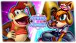 RR|Diddy Kong vs. Coco Bandicoot by Vex2001