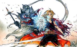 FMA: Gods Among Men by TGA-Tsurugi