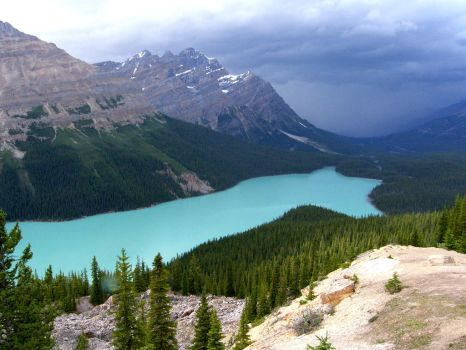 lake of blue by wildcatphotos