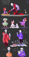 Undertale AU UnderTrust by A-Dreamare