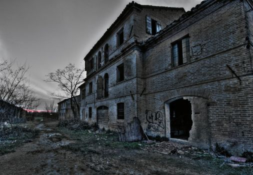 Abandoned slaughterhouse by david-rf