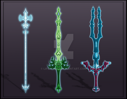 [Close]  Adoptable Weapon Auction 9-11 by LifStrange
