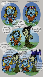 Lauriel's Chibi Adventures by Whyled-Card