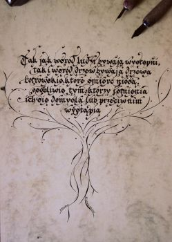 Tree by Calligraphism