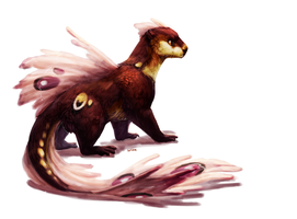Otterfish Creature Auction by Verlidaine