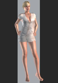 XPS - RE6 - Sherry Birkin Monitor Outfit by henryque999