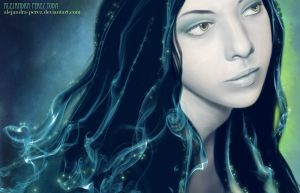 Fantasy Selfportrait by Anhyra