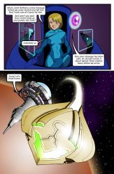 Metroid Comic Page 11 by Dyir