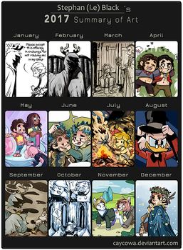 2017 Summery of Art by caycowa
