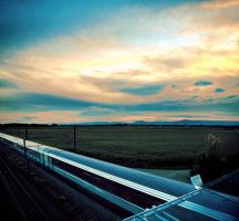 GIF - Sunset train 2 by turst67