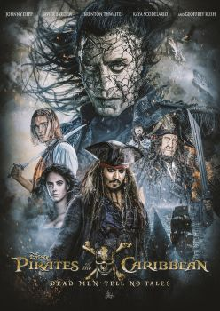 Pirates of the Caribbean: Dead Men Tell No Tales by Visutox