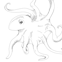 Octopus by bio-mechanic