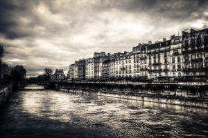 Quai Saint Michel by 3lRem