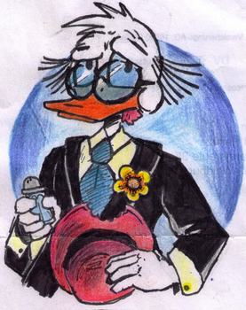 John D. Rockerduck by Antaie