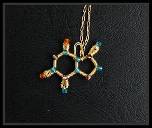 Theobromine Necklace by Moofuls