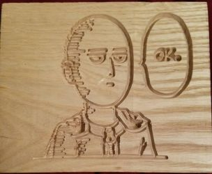 Saitama Woodcarving - OPM by StrayDemi1700