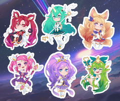 Star Guardians charms! by E-nosst