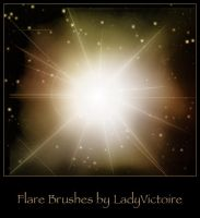Flare Brushes by LadyVictoire