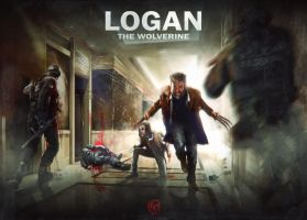 LOGAN : THE WOLVERINE (MOVIE FAN ART) by LopezIIReturn