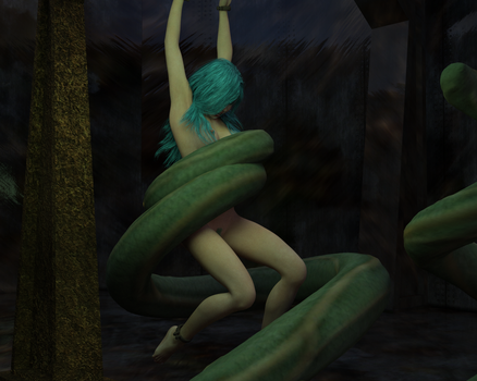 Into the Pit - Dagon by EmpireCityHeroines