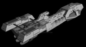 WIP: Patriot Frigate Mk2 - 2 by Vince-T