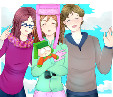AT: Friends forever!! by Daffu-T