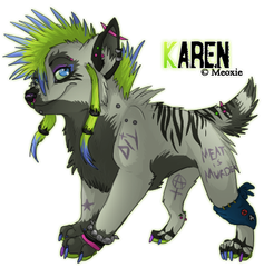 .: Karen. by Meoxie