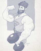 Hunk of the week #18 by silverjow