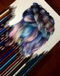 Rainbow Hair by Khadija96