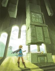 Breath of the Colossus by johannamation