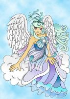 Aquarian Angel by Froggy-Spaztastic