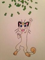in meowth's dreams by zoozybeencloned