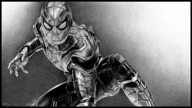Iron Spider by AnarchyWulf