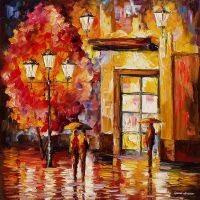 Little Story by Leonid Afremov by Leonidafremov