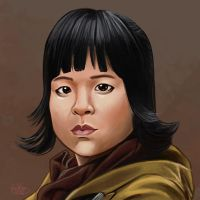 Daily Sketches Rose Tico by fedde