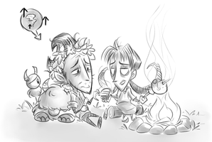 Don't Starve Together - Sanity Boost by Ka-Star